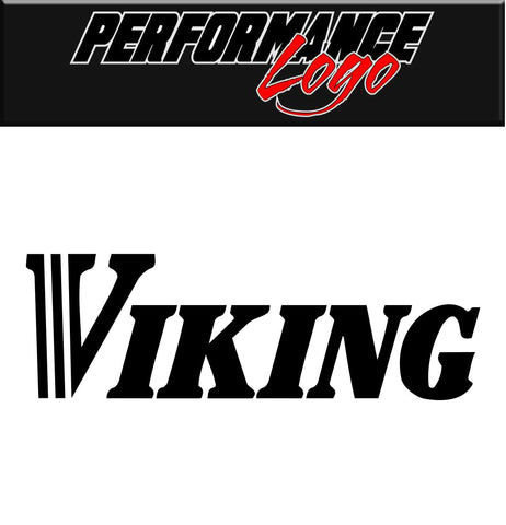 Viking Tire decal, performance decal, sticker