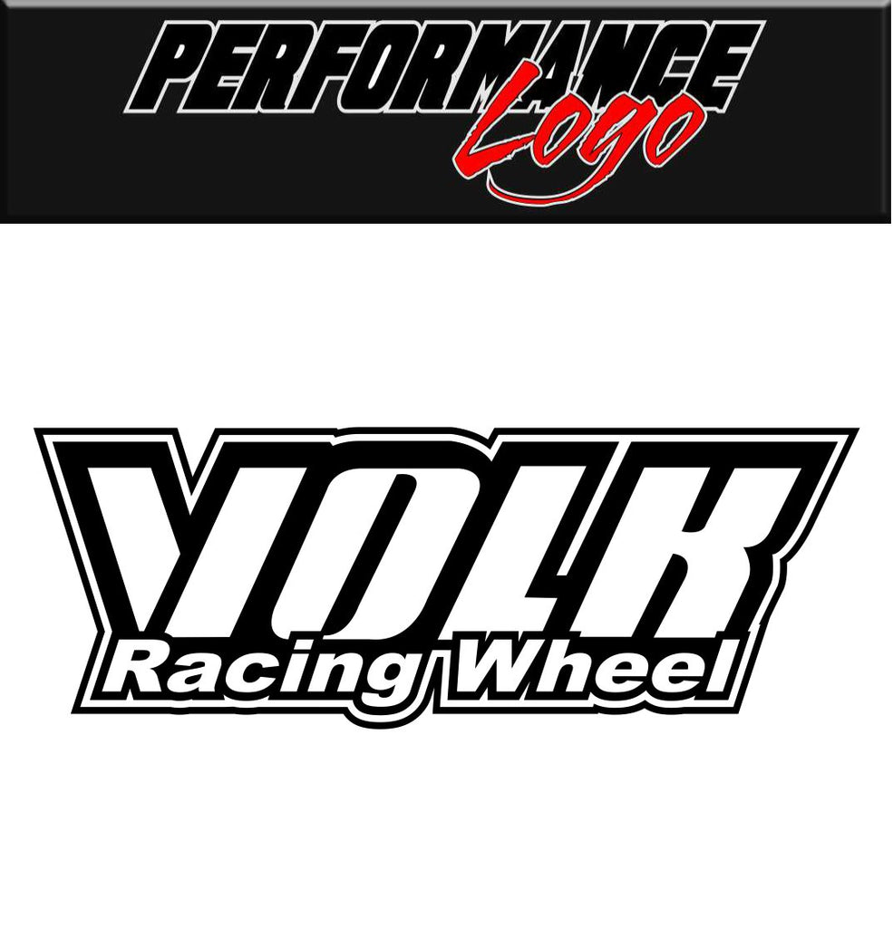 Volk Racing Wheel decal, performance decal, sticker