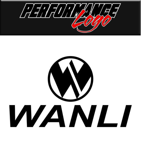 Wanli Tires decal, performance decal, sticker