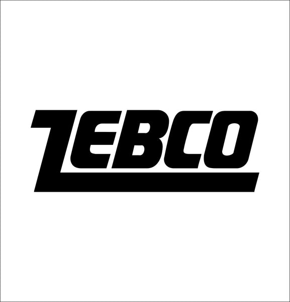 Zebco decal, sticker, hunting fishing decal