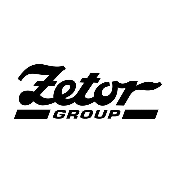 Zetor Group decal, farm decal, car decal sticker