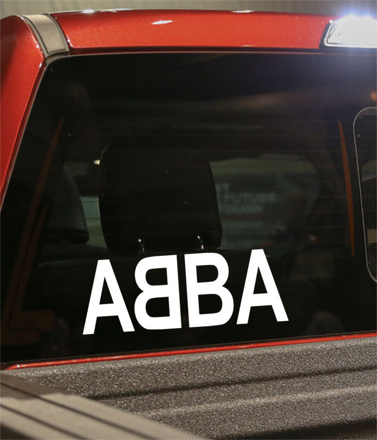 Abba band decal - North 49 Decals