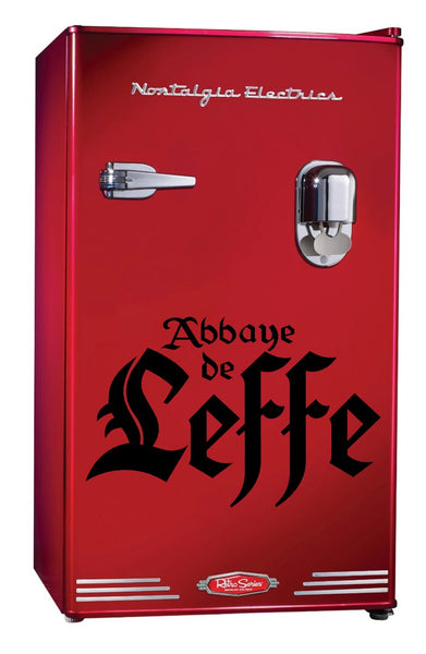 Abbeye De Leffe decal, beer decal, car decal sticker
