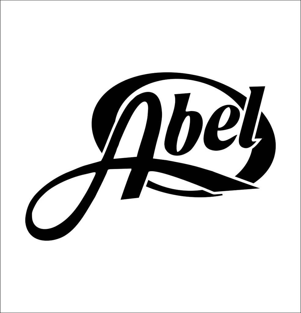 Abel Reels decal, sticker, hunting fishing decal