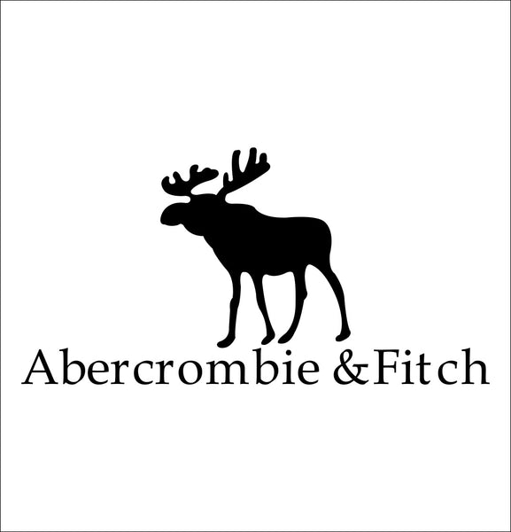 abercrombie & fitch decal, car decal sticker