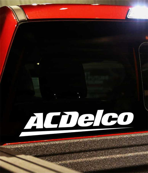 ac delco performance logo decal - North 49 Decals