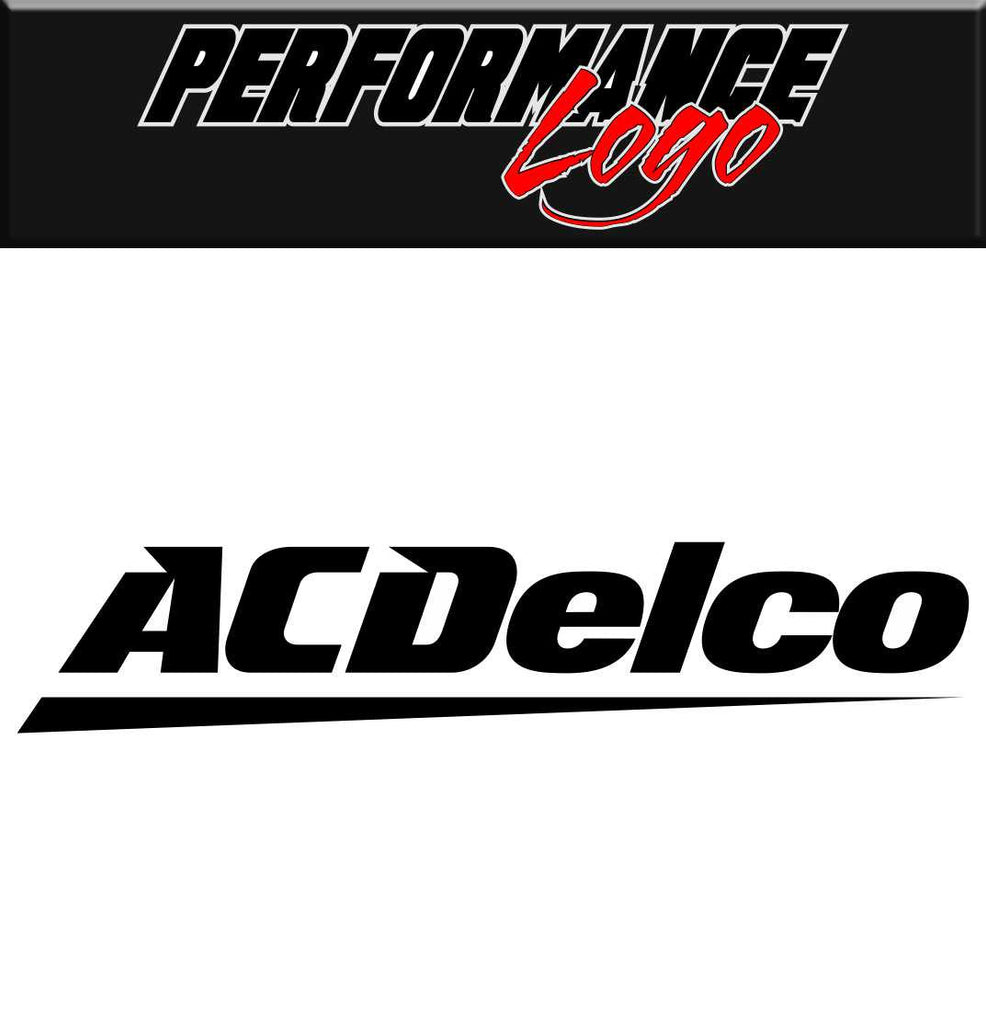 ac delco performance decal car decal sticker