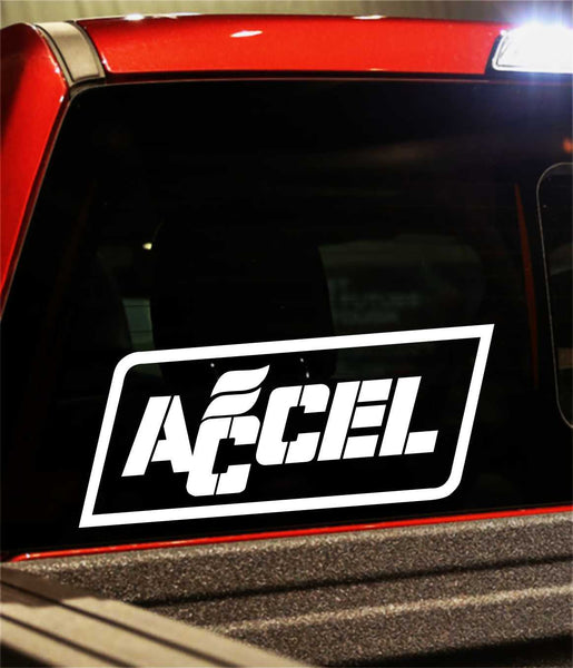 accel performance logo decal - North 49 Decals