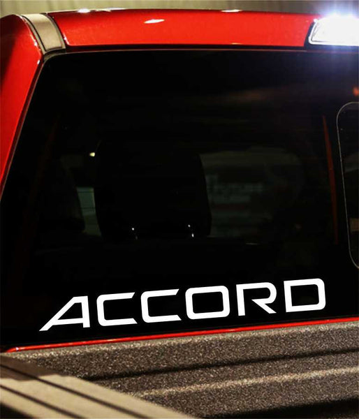 accord performance logo decal - North 49 Decals