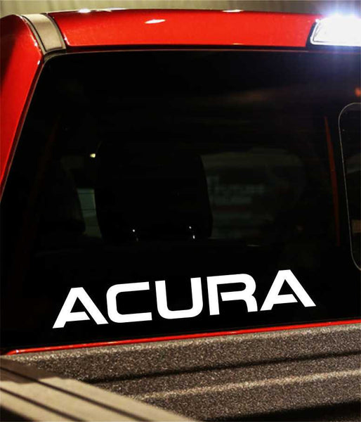 acura performance logo decal - North 49 Decals