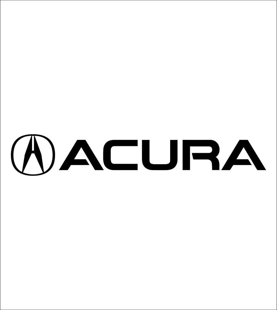acura decal, sticker, car decal