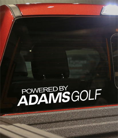 powered by adams golf decal - North 49 Decals