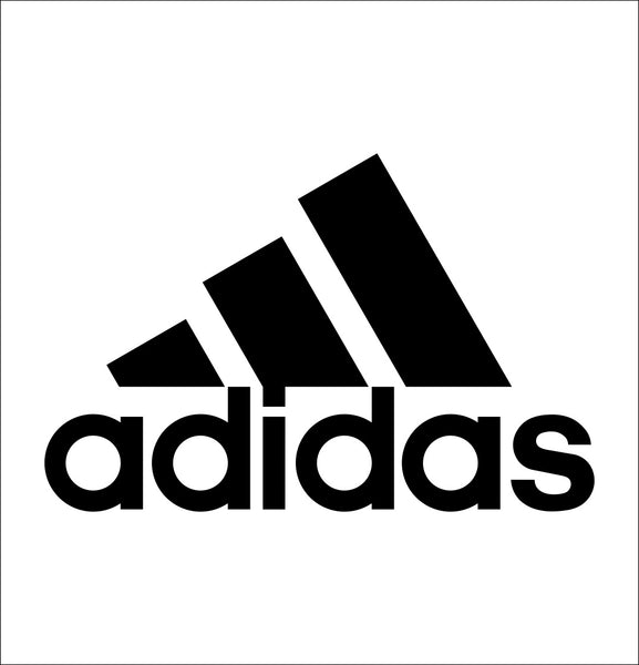 Adidas decal, car decal sticker