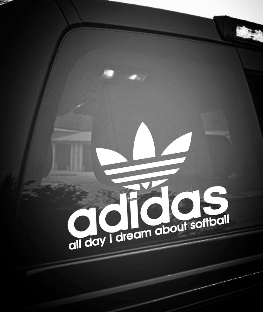 All DAY LONG I DREAM ABOUT SOFTBALL - North 49 Decals