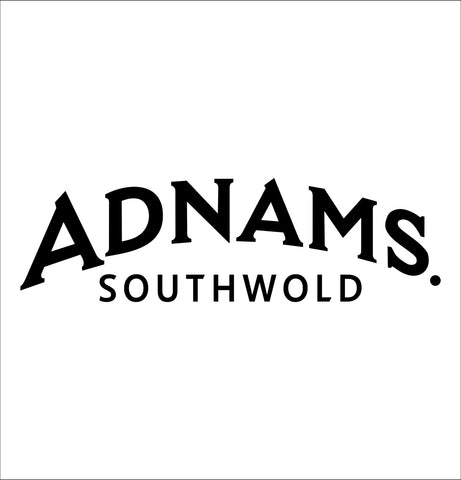 Adnams decal, vodka decal, car decal, sticker