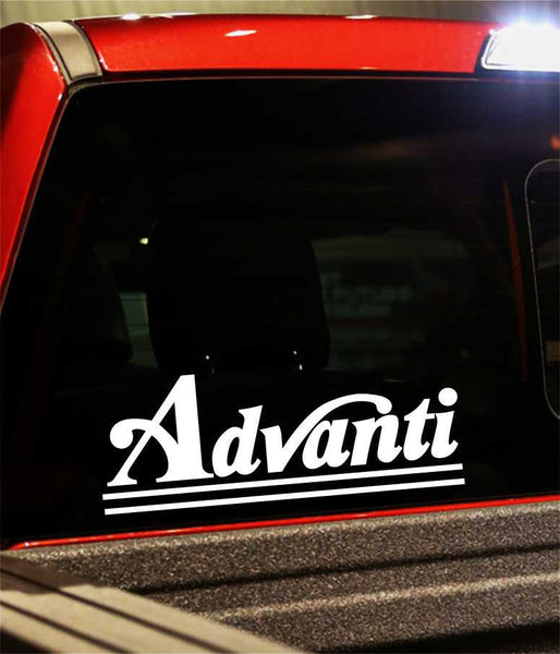advanti performance logo decal - North 49 Decals