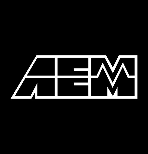 AEM decal, performance decal, sticker