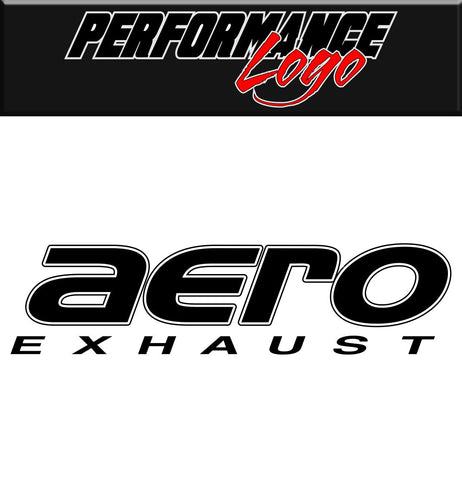aero exhaust DECAL  performance car decal sticker