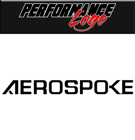 aerospoke decal performance car decal sticker