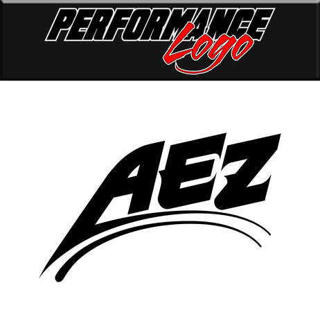 aez wheels decal performance car decal sticker