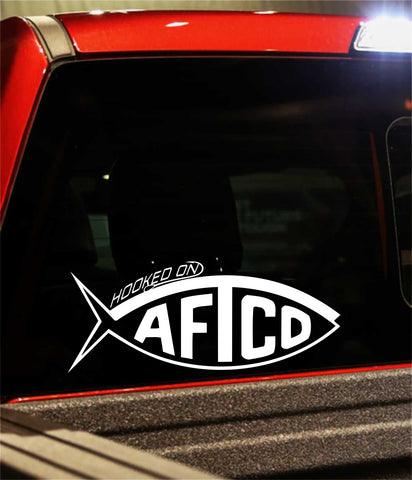 Hooked on Aftco decal