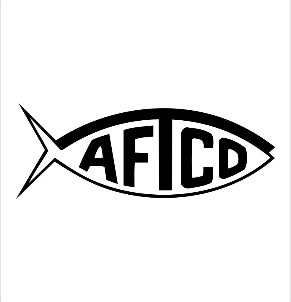 AFTCO decal, sticker, hunting fishing decal