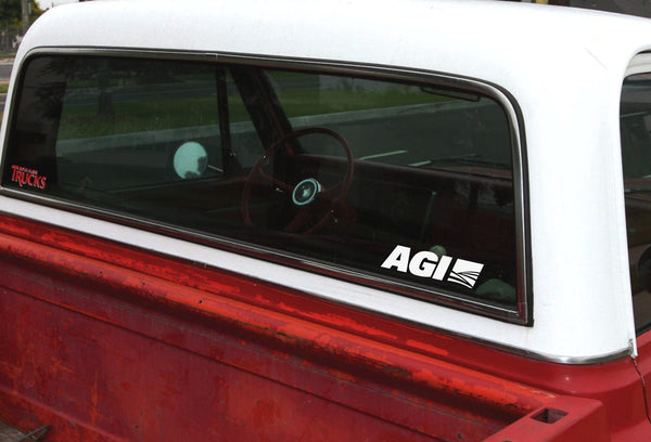 AGI decal, farm decal, car decal sticker