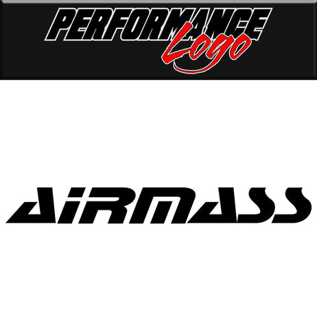 Airmass decal performance car decal sticker