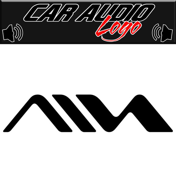 Aiwa decal, sticker, racing decal