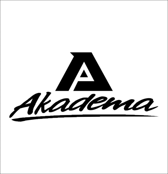 Akadema decal, car decal sticker