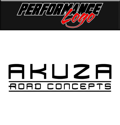 Akuza decal performance car decal vinyl sticker