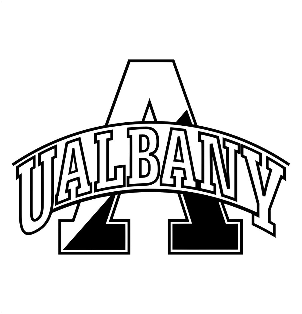 Albany Great Danes decal, car decal sticker, college football