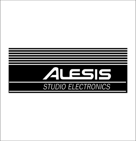 Alesis decal, music instrument decal, car decal sticker
