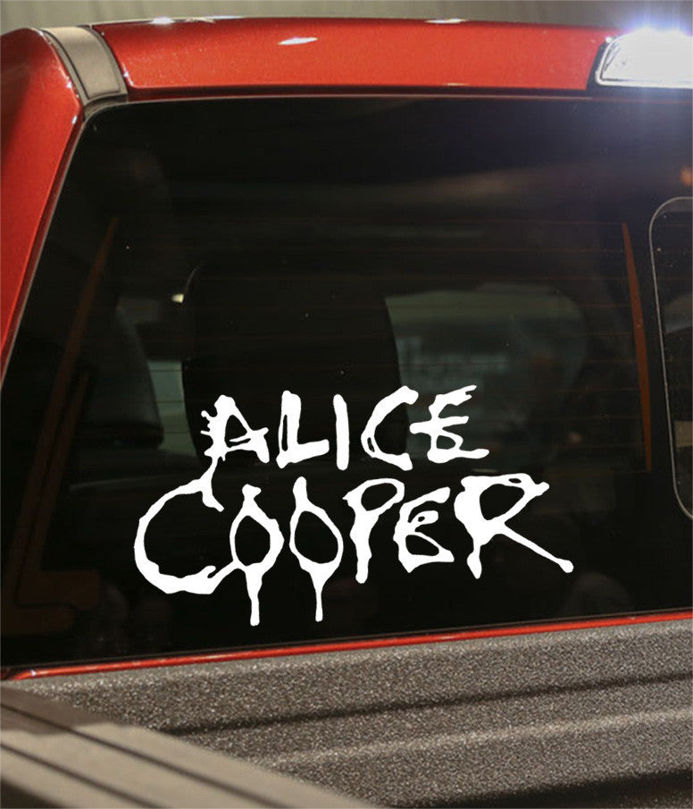 Alice cooper band decal - North 49 Decals