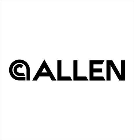 Allen decal, sticker