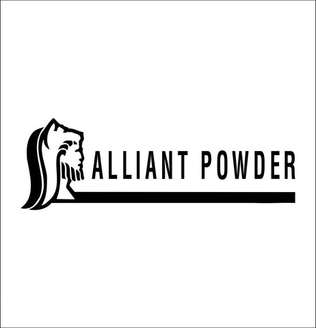 Alliant Powder decal, sticker, car decal