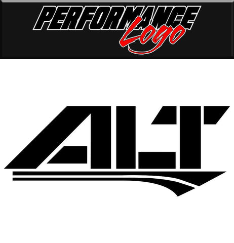 alt decal performance decal sticker