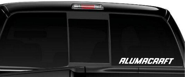 Alumacraft decal, sticker, car decal