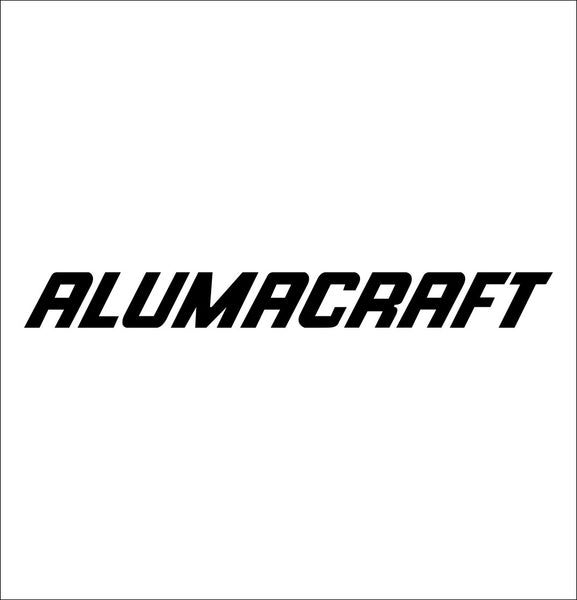 Alumacraft decal, sticker, hunting fishing decal