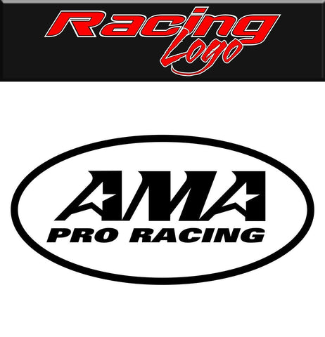 AMA Pro Racing decal, racing sticker