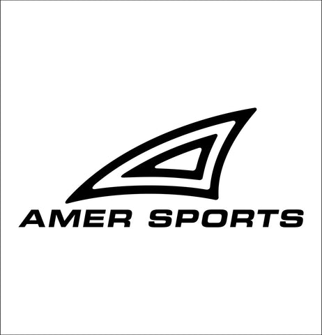 Amer Sports decal, car decal sticker