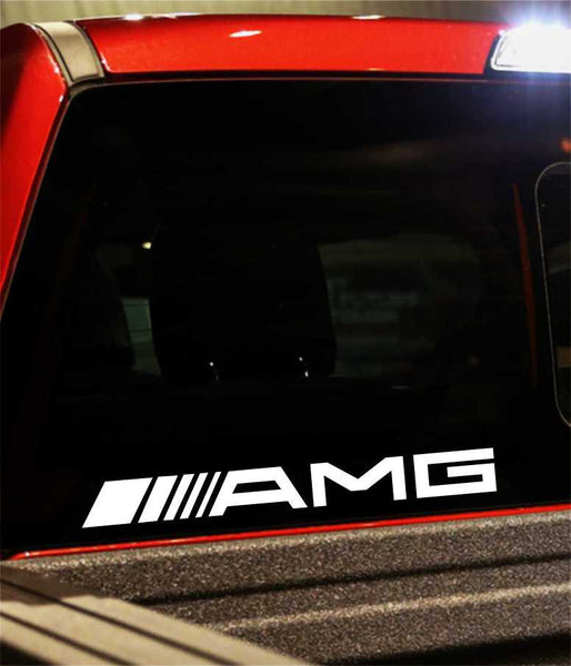 amg performance logo decal - North 49 Decals