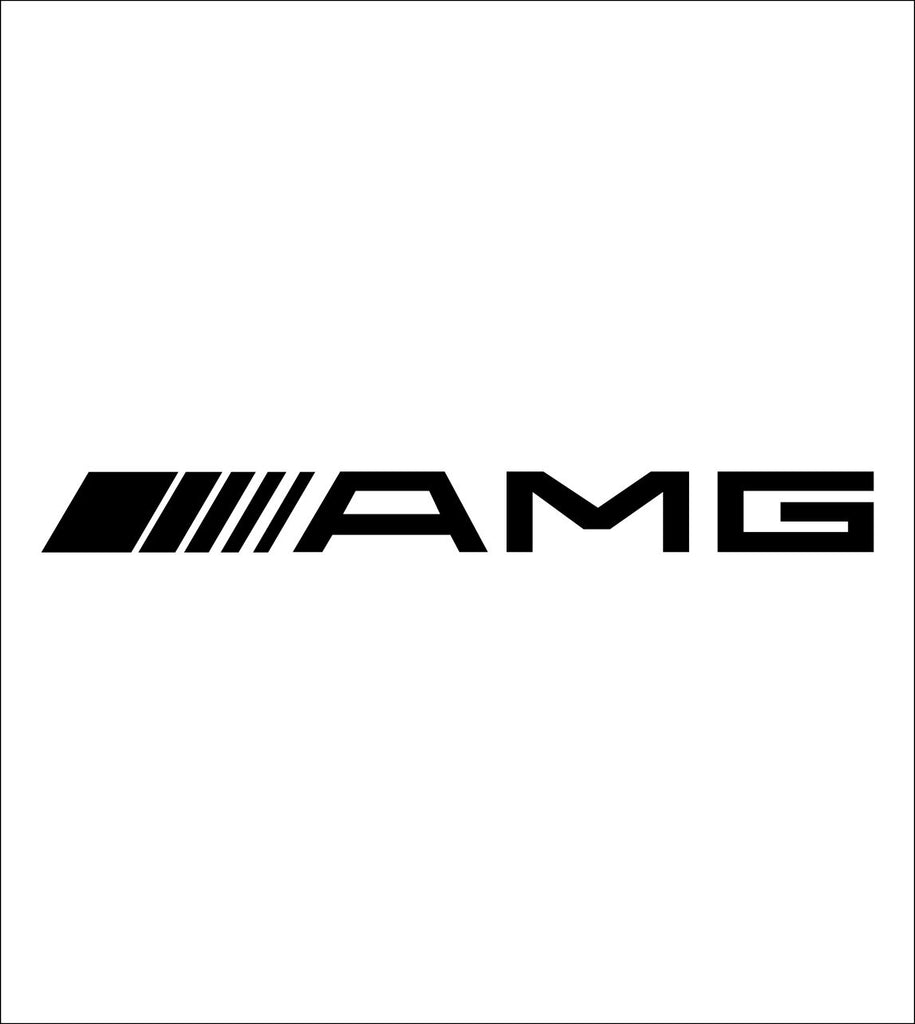 amg decal, sticker, car decal