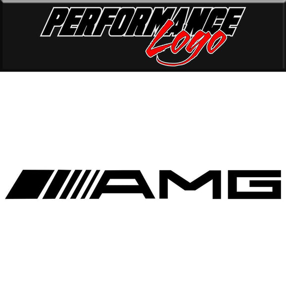 AMG decal performance car decal sticker