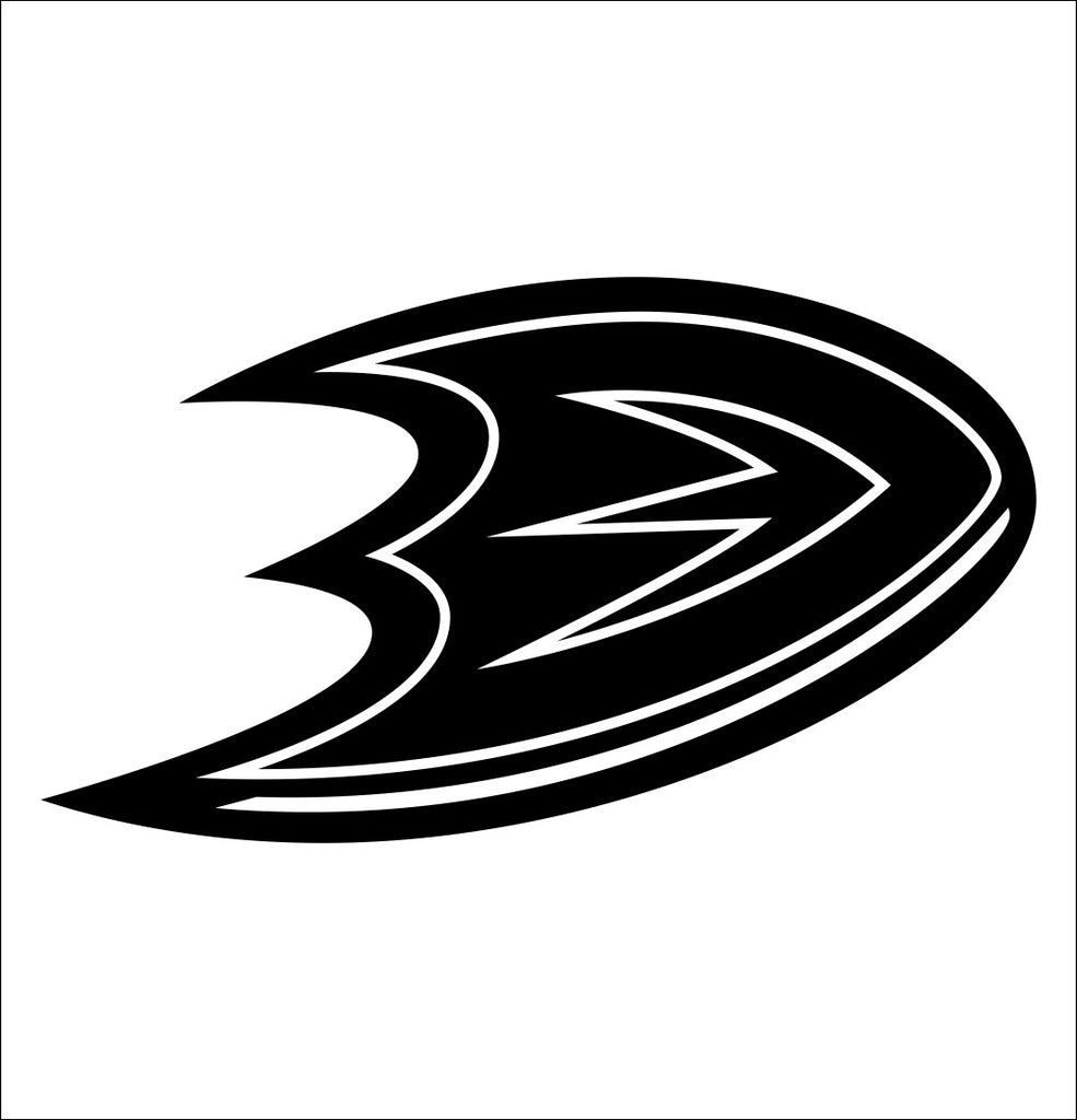 Anaheim Mighty Ducks decal, sticker, nhl decal
