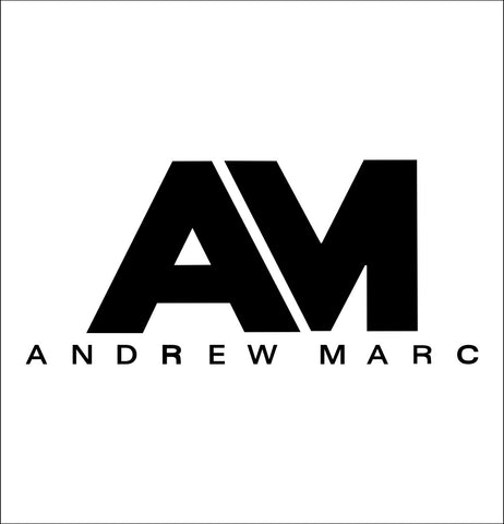 Andrew Marc decal, car decal sticker