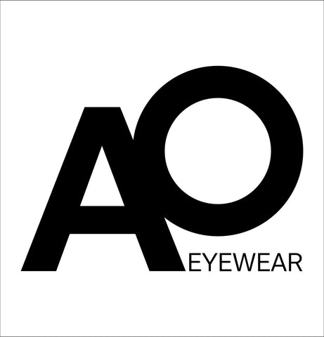AO Eyewear decal, car decal sticker