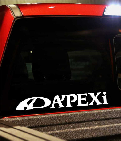 apexi 2 performance logo decal - North 49 Decals