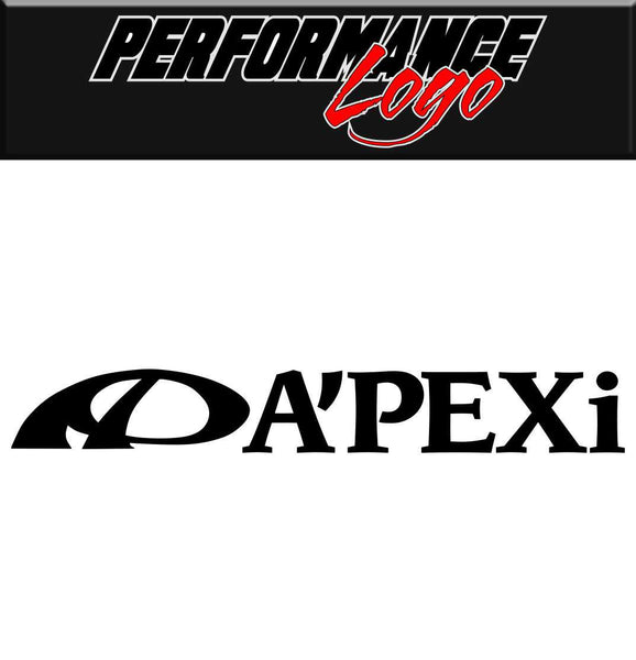 Apexi decal performance car decal sticker