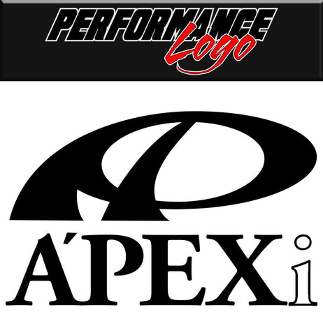 Apexi decal performance decal sticker